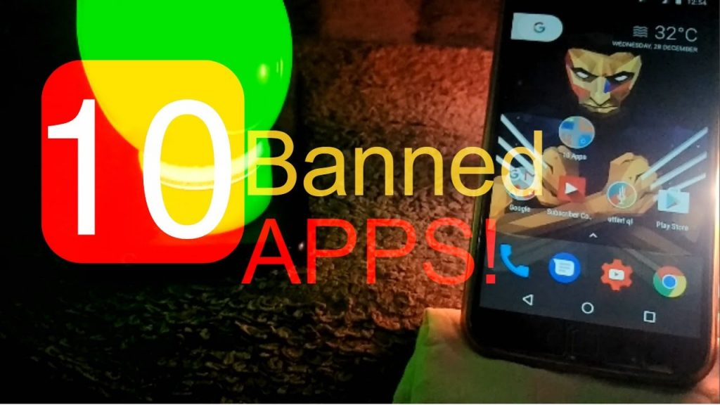 Top ten movies apps banned from play store